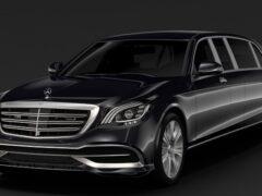Новый Mercedes-Benz S-Class рассекретили до премьеры