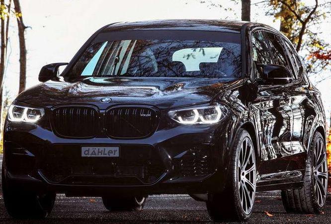 BMW X3 M, Dahler тюнинг