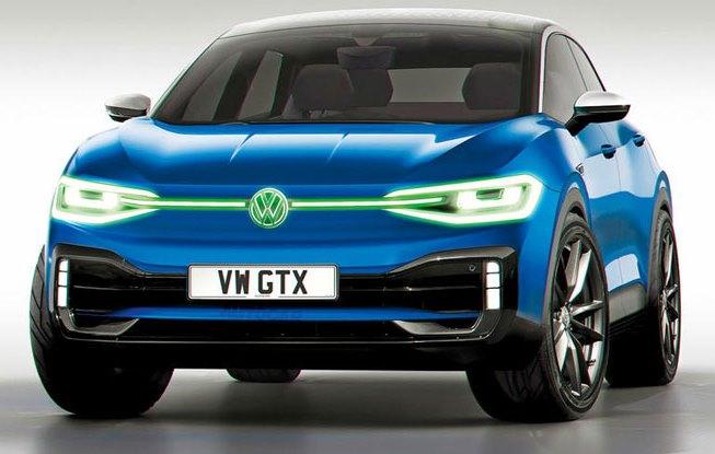 Volkswagen GTX, электрокар, заряженный