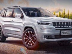 Гибридный Jeep Grand Commander PHEV появился в Поднебесной