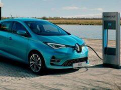 Renault Zoe получит два электромотора