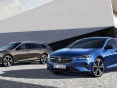 Представили обновлённый Opel Insignia 2020 модельного года