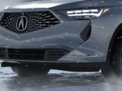 Acura вывела новый кроссовер MDX на тесты