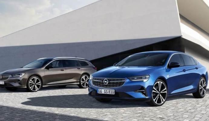Opel Insignia 2020 модельного года