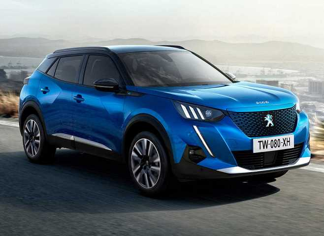 Peugeot e-2008 2020 года