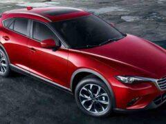 Обновленный купе-кроссовер Mazda CX-4 стал бестселлером марки