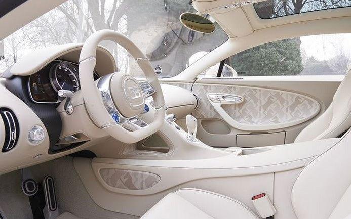 Bugatti Chiron, серия Hermès