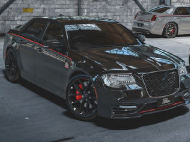Chrysler 300 SRT, спецверсия