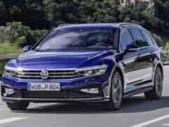 Новый Volkswagen Passat не прошел лосиный тест
