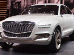 Новый Genesis GV80 появится в России осенью