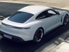 Рендеры Porsche Mission C в кузове Shootingbrake появились в Сети