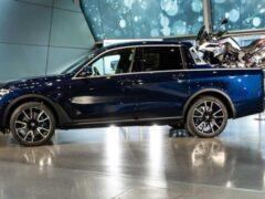 В Баварии представили внедорожный пикап BMW X7
