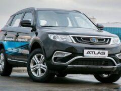 Geely Atlas остается самым популярным китайским автомобилем в РФ