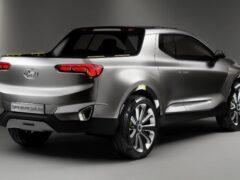 Hyundai продолжает тесты пикапа Santa Cruz
