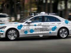 Daimler запускает тестирование сервиса беспилотного такси