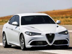 В Сети появилось изображение электрокара Alfa Romeo Giulietta