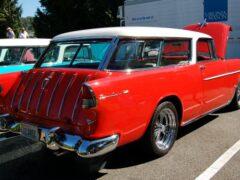 Продаётся Chevrolet Nomad 1955 года с деревянным потолком