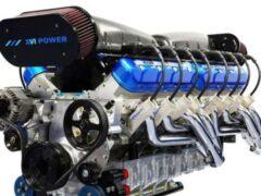 Лодочный 2200-сильный двигатель адаптировали для гиперкаров