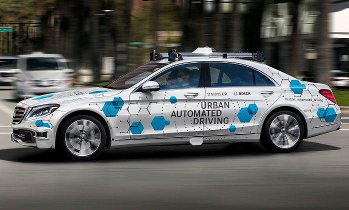 Daimler, беспилотное такси