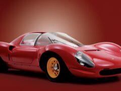 Редкий прототип Ferrari Dino 206 SP будет выставлен на торги