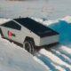 Российский пикап Tesla Cybertruck испытали сибирской зимой