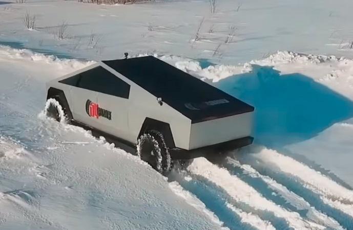 УАЗ Tesla Cybertruck