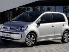 Обновленный электрокар Volkswagen e-Up назван самым доступным