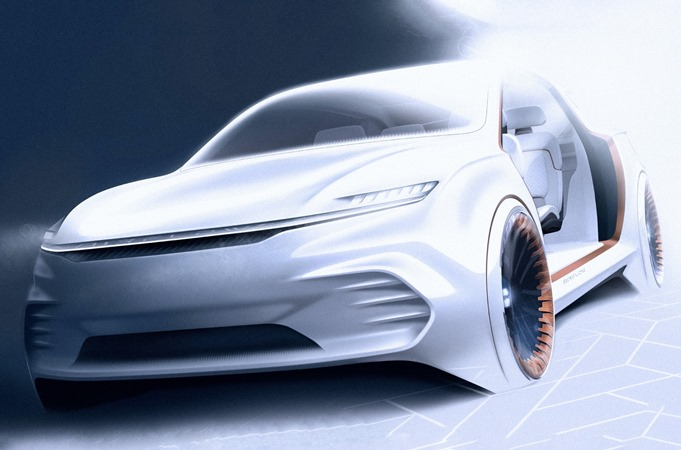 Chrysler, концепт Airflow