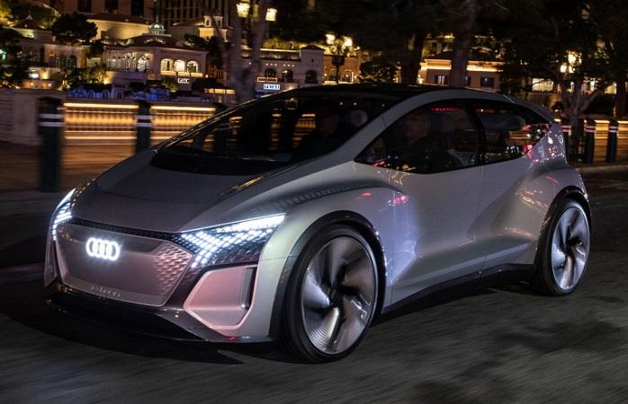 Audi AI, концепт