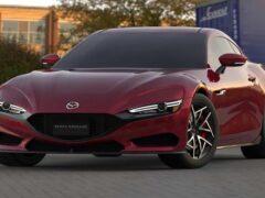Mazda RX-7 2022 года показали на рендерах