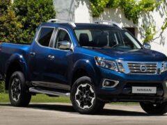 Новое поколение пикапа Nissan Navara рассекретили
