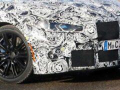 BMW M4 Coupe скрывает под камуфляжем оригинальный оттенок