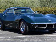 На аукционе будет продан редчайший кабриолет Chevrolet Corvette L88 1968 года