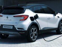 Renault выпустил гибридные версии Captur и Clio