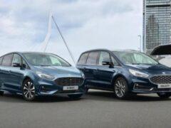 Ford S-Max и Galaxy станут гибридами