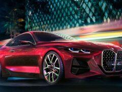В Сети появились новые рендеры BMW 4 Series