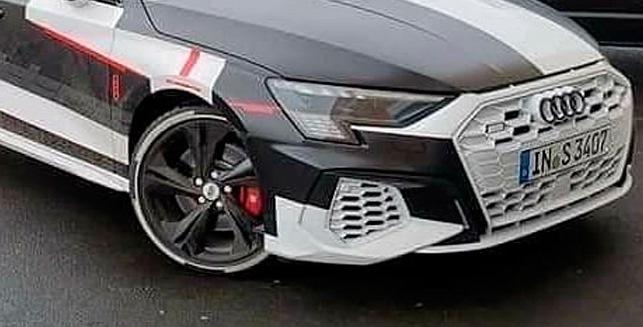 Audi S3, камуфляж