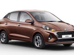 Hyundai представил новый седан Aura для рынка Индии