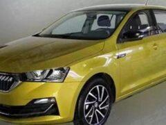 Обновленные седан и хэтчбек Skoda Rapid выйдут на рынок в марте
