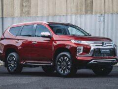 Обновлённый Mitsubishi Pajero Sport в России не лишится дизеля