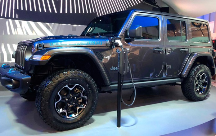 Jeep Wrangler, гибрид