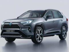 Toyota представила гибридный Toyota RAV4 для Европы
