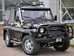 УАЗ «Хантер» тюнеры превратили в подобие Mercedes-Benz G-Class