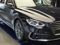 Стартовали продажи нового Hyundai Grandeur