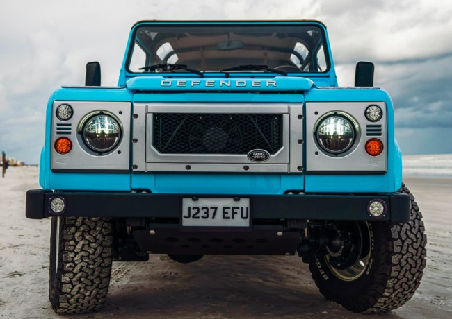 Land Rover Defender, пляжный