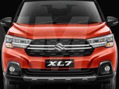 Названы комплектации и стоимость нового кроссовера Suzuki XL7