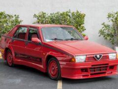 Редкий 400-сильный Alfa Romeo будет выставлен на продажу