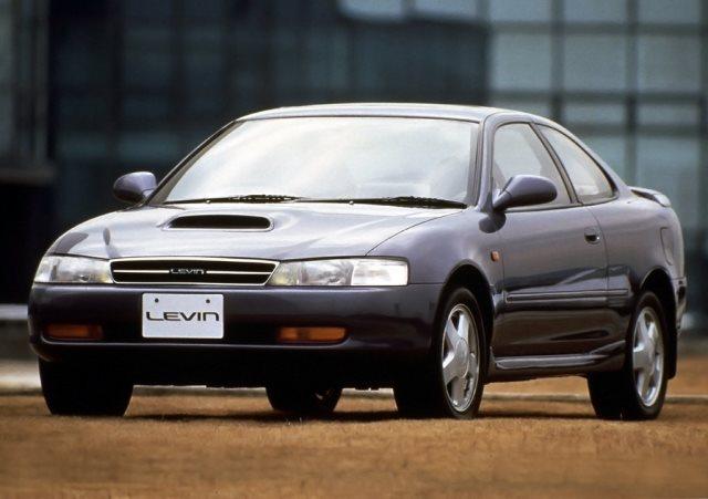 Toyota Corolla Levin, 90-е