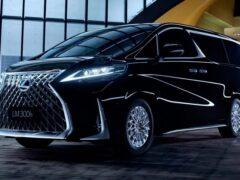 Стартовали продажи первого минивэна Lexus