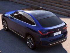 В Китае представили купеобразный электрокар Nio EC6